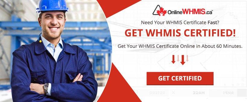Get WHMIS Certified