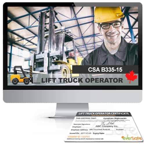 Lift Truck Operator Certification Online