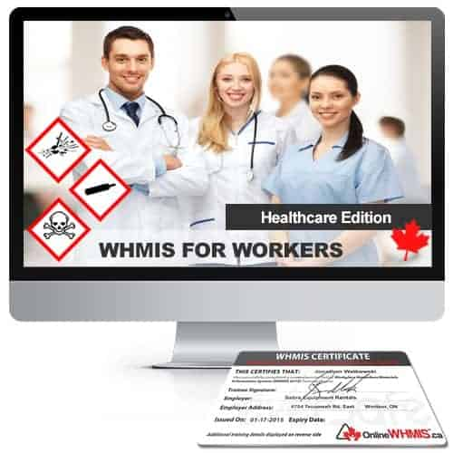 whmis certification online (health care) | onlinewhmis.ca™