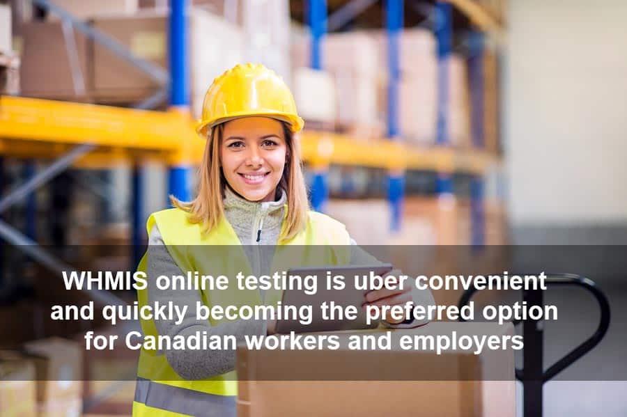 WHMIS Online Test Uber Convenient
