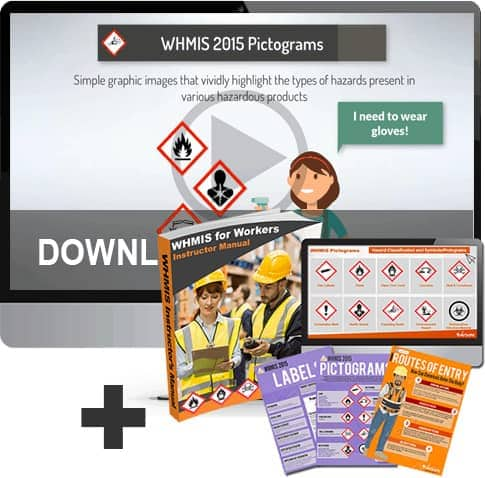 WHMIS Training Materials and Video Bundle